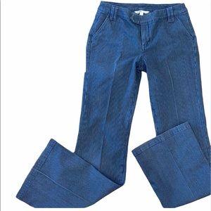 Cabi pinstriped pants